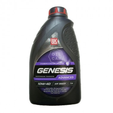 Лукойл Genesis Advanced 10W-40 1л