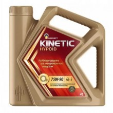 ROCNEFT KINETIC HYPOID 75W-90 GL-5 П/СИНТЕТИКА 4л